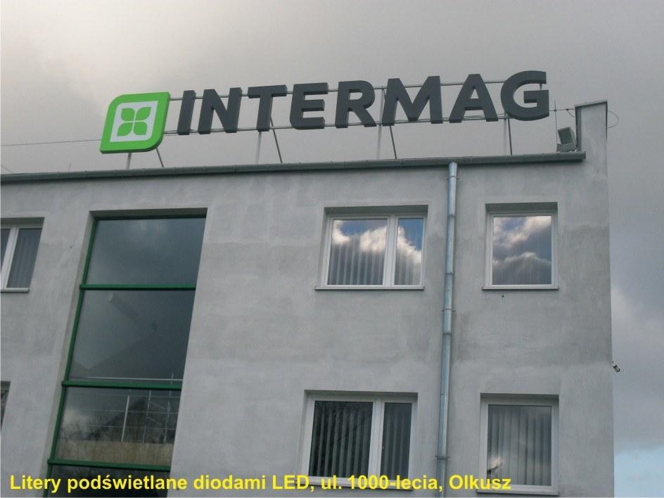 intermag litery podświetlane